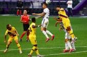 Un solitario gol de Arturo Vidal le permitió al Barcelona imponerse en su visita al Valladolid