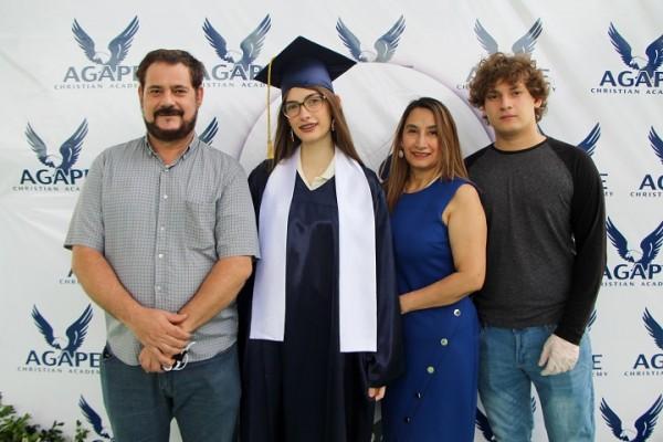 Christian Sorto, Astrid Sorto, Maria del Carmen Portillo y Christian Johann Sorto
