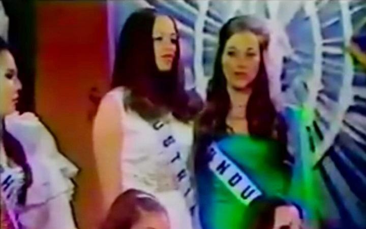 Se cumplen 50 años de la participación de Frances Irene Van Tuyl en el Miss Universo 1970