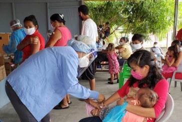 Jornada de vacunación continuará este mes de julio porque falta cubrir más de la mitad de la población meta