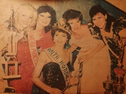 Miss Honduras 1984