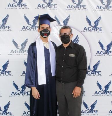 Rafael Tabora y Pastor Alan Espinal