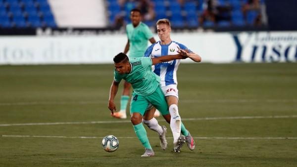 Pase magistral de Marco Asensio puso al Real Madrid sobre Leganés