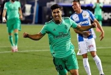 Pase magistral de Marco Asensio puso al Real Madrid sobre Leganés (2 -1)