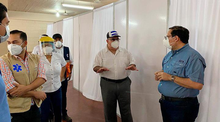 Gobierno, empresa privada, Alcaldía y sociedad civil inauguran centro de triaje en El Progreso