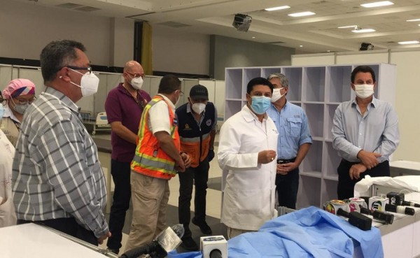 En Expocentro se instalará la unidad estabilizadora de pacientes con COVID-19 más grande del país