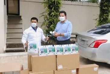 Maquiladores entrega donación de equipo médico para hospitales públicos del norte del país