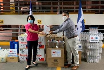 Taiwán entrega donativo de equipo de bioseguridad a Secretaría de Coordinación de Gobierno