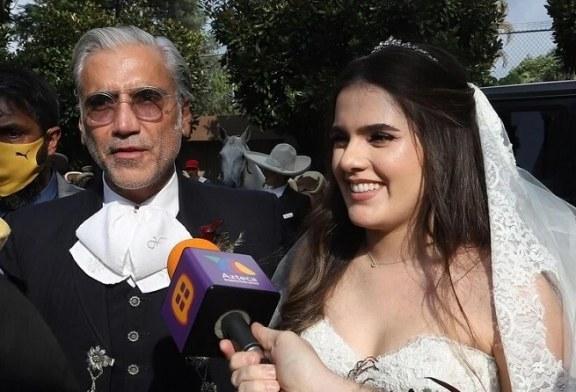 La boda de la hija de Alejandro Fernández al estilo charro