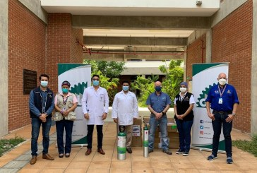 CCIC entrega donación a la Secretaría de Salud