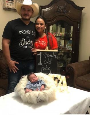 Regocijo en la familia Rivera-López por la llegada del pequeño Eliu Alessandro