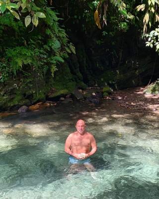 Guillermo Mahchi disfrutando de la naturaleza