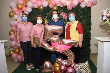 La Liga Contra el Cáncer cumple 55 años trabajando en prevención y atención a pacientes con cáncer