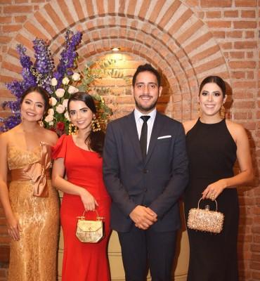 Mariana León, Aimee Paz, Pablo Heredia y Michelle Marzan