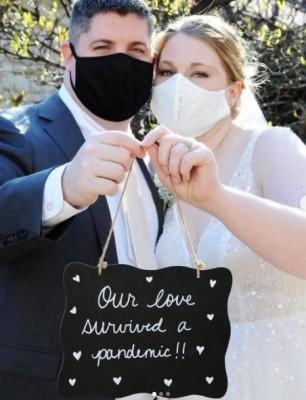 Parejas que soñaron con casarse este año