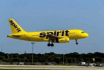 Spirit Airlines reinicia vuelos comerciales a San Pedro Sula