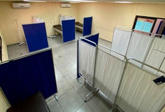 Inauguran el tercer centro de triaje en el Infop de San Pedro Sula