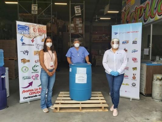 Grupo Jaremar dota de gel antibacterial a ocho hospitales publicos a nivel nacional