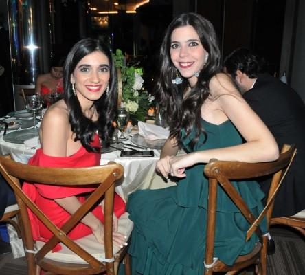 Amira Jarufe y Andrea Segebre