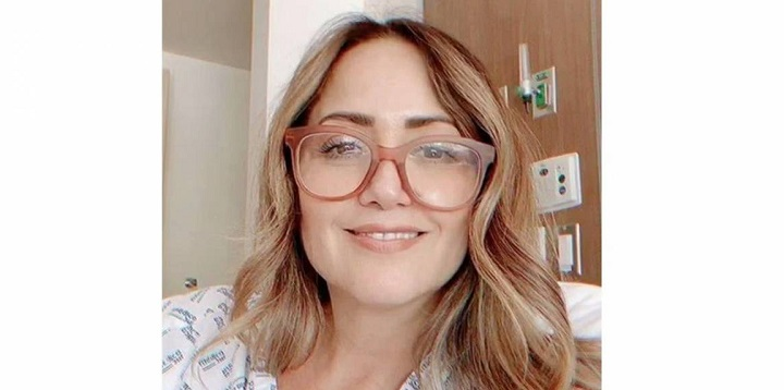 Hospitalizan a Andrea Legarreta por neumonía tras dar positivo a covid