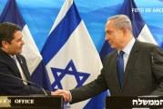 Netanyahu espera seguir trabajando con Hernández para lograr la apertura de la embajada de Honduras en Jerusalén