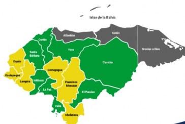 Copeco extiende vigencia de alertas en el país por lluvias durante las próximas 24 horas