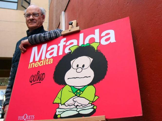 Fallece el historietista argentino 'Quino' el creador de Mafalda