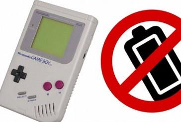 Crean un Game Boy que no necesita baterías
