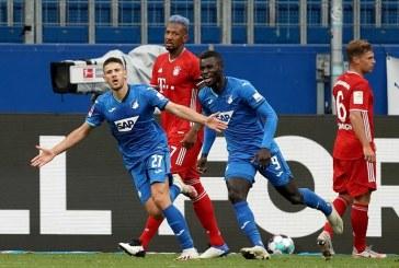 Hoffenheim le pone fin a la buena racha de casi diez meses sin perder un partido al Bayern