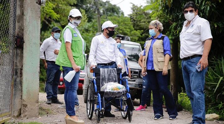 Más de 160 personas con discapacidad reciben beneficios en Copán Ruinas y Belén