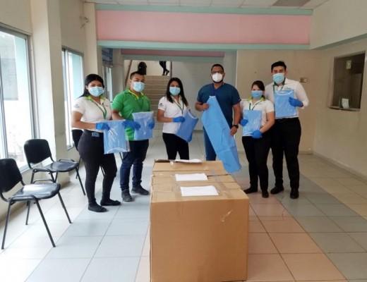 Supermercados La Colonia entrega insumos de bioseguridad a 5 hospitales de la zona noroccidental del país