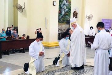 Ordenan dos nuevos sacerdotes en la diócesis de San Pedo Sula
