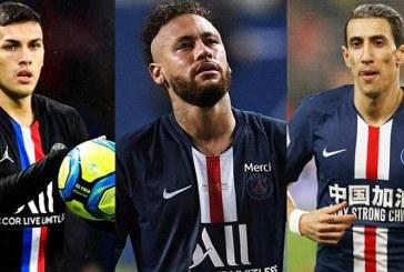Neymar, Di María y Leandro Paredes dieron positivo por coronavirus