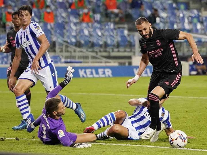 Real Madrid arranca con un empate sin goles ante Real Sociedad