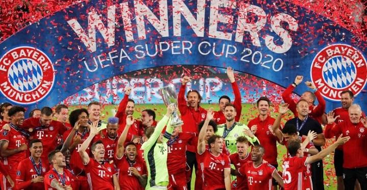 Bayern Múnich vence 2-1 al Sevilla y levanta la Super Copa de Europa