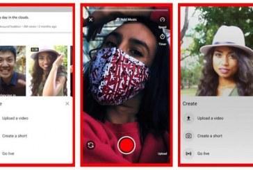 Buscando ganar ventaja: YouTube lanza su propio 'TikTok'