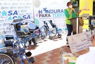 Gobierno inicia entrega de aparatos ortopédicos a discapacitados