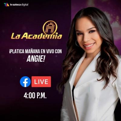 Angie Flores en vivo