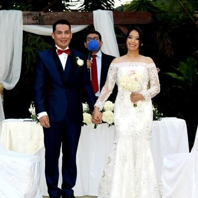 """Orfa Blanco y Jorge Zavala se dan el """"sí, quiero"""" en una boda inolvidable"""
