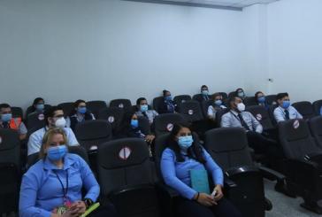 Con ciclo de charlas médicas refuerzan protocolos de bioseguridad en aeropuerto sampedrano