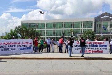 Exempleados de Diario TIEMPO denuncian a la Corte de Apelaciones por favorecer a la familia Rosenthal
