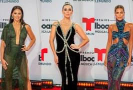 La alfombra roja de los Premios Billboard 2020