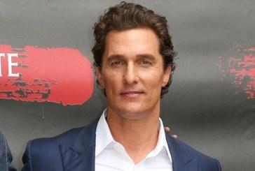 El actor Matthew McConaughey revela que fue abusado sexualmente