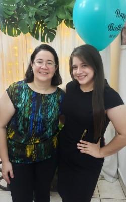 Maritza de Garcia y Candy Pineda