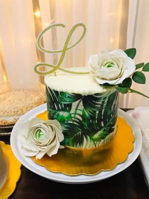 Pastel elaborado por Maritzas Bakery