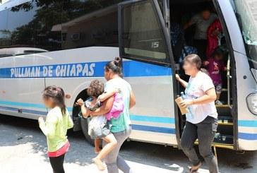 A partir de este lunes se reanudarán retornos terrestres de migrantes hondureños desde México