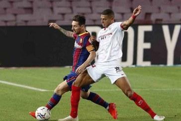 Sevilla pone freno al Barcelona y suma un punto en el Camp Nou