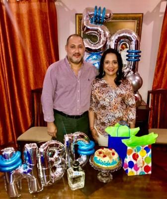 Walter Paredes de cumpleaños