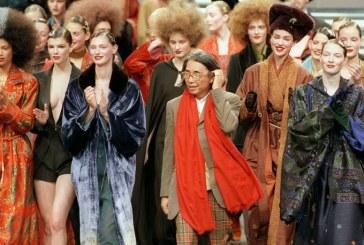 El diseñador de moda japonés Kenzo murió a causa del Covid-19