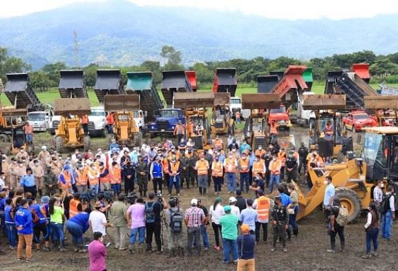 Gobierno inicia masiva operación de limpieza a nivel nacional desde el Valle de Sula